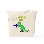 NERVOUS REX Tote Bag