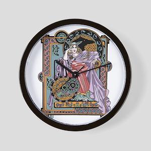 Corbie Queen Wall Clock