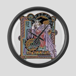Corbie Queen Large Wall Clock