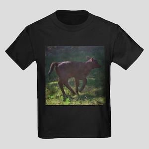 angus calf Kids Dark T-Shirt