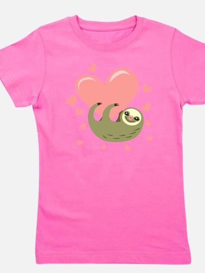 Sloth Girl's Tee