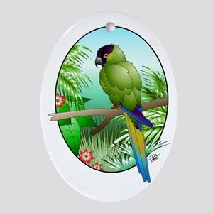 Nanday Oval Ornament