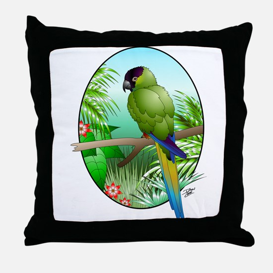 Nanday Throw Pillow