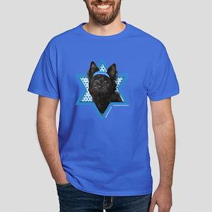Hanukkah Star of David - Cairn Dark T-Shirt