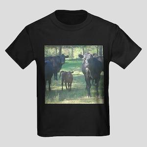 black angus Kids Dark T-Shirt