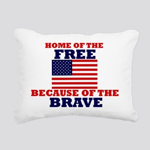 American Pride Rectangular Canvas Pillow