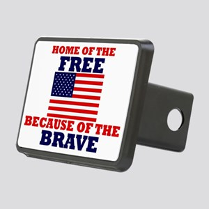 American Pride Rectangular Hitch Cover