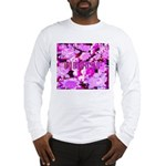 Pink Roses & Cherry Blossoms Long Sleeve T-Shirt