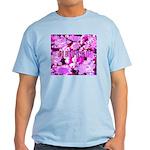 Pink Roses & Cherry Blossoms Light T-Shirt