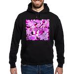 Pink Roses & Cherry Blossoms Hoodie (dark)