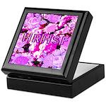 Pink Roses & Cherry Blossoms Keepsake Box