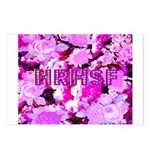 Pink Roses & Cherry Blossoms Postcards (Package of