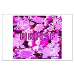 Pink Roses & Cherry Blossoms Large Poster