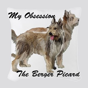 Berger Picard Obsession Woven Throw Pillow