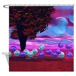 Bubble Garden Shower Curtain