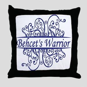 Behcets Warrior Throw Pillow