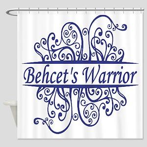 Behcets Warrior Shower Curtain