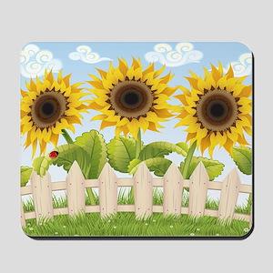 Cute Sunflowers Mousepad