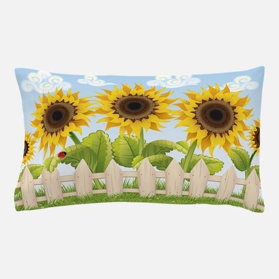Cute Sunflowers Pillow Case