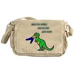 Give me coffee and no one gets hurt! Messenger Bag