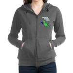 Give me coffee and no one gets hurt! Zip Hoodie
