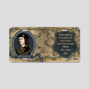 Richard III Historical Aluminum License Plate