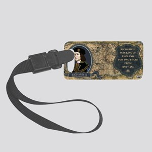 Richard III Historical Small Luggage Tag