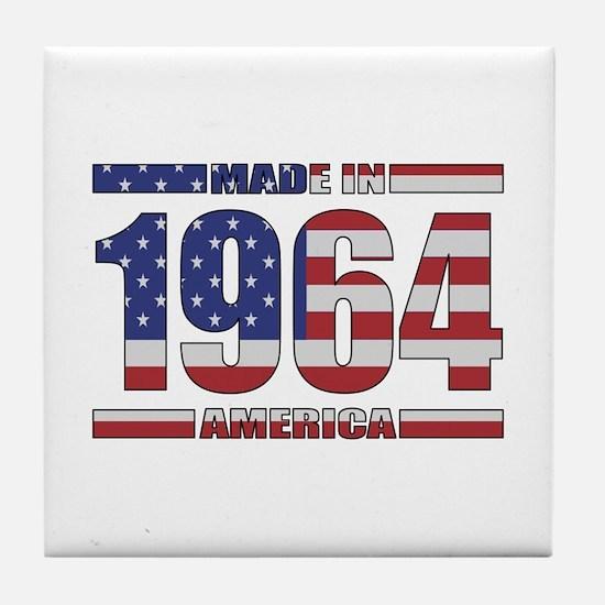 1964 Made In America Tile Coaster
