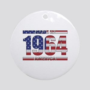 1964 Made In America Ornament (Round)