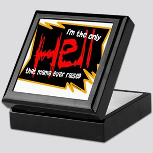 Only Hell-Johnny Paycheck Keepsake Box