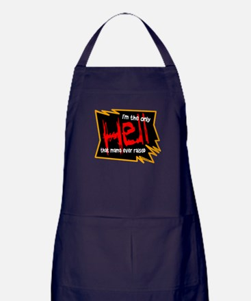 Only Hell-Johnny Paycheck Apron (dark)
