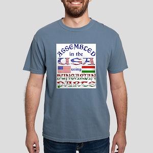 USA/Hungarian Parts Ash Grey T-Shirt