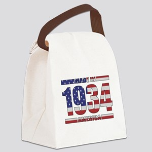 1934 Made In America Canvas Lunch Bag