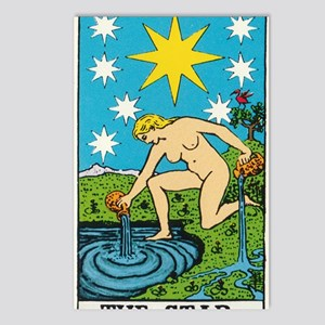 THE STAR TAROT CARD Postcards (Package of 8)