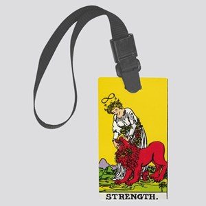 STRENGTH Large Luggage Tag