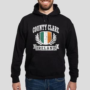 County Clare Ireland Hoodie (dark)