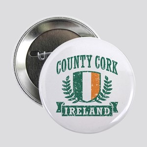 "County Cork Ireland 2.25"" Button"