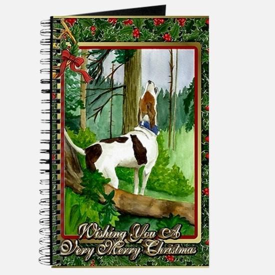 Treeing Walker Coonhound Dog Christmas Journal