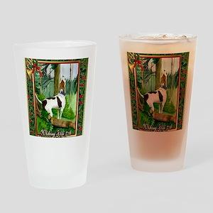 Treeing Walker Coonhound Dog Christ Drinking Glass