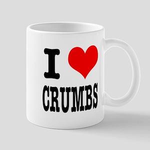 I Heart (Love) Crumbs Mug
