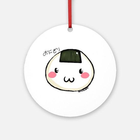 onigiri Ornament (Round)