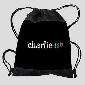 Black-ish Charlie-ish Drawstring Bag