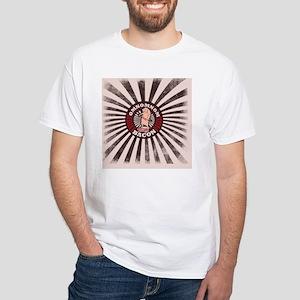 OMNOM Bacon White T-Shirt