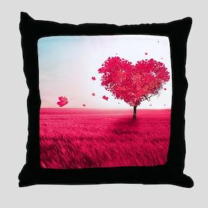 Tree Of Love Throw Pillow