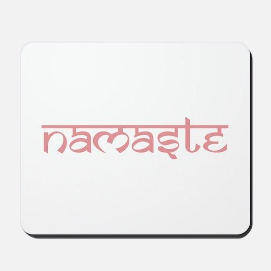 Namaste, Yoga Mousepad