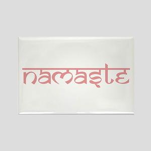 Namaste, Yoga Rectangle Magnet
