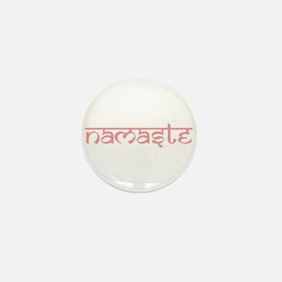 Namaste, Yoga Mini Button