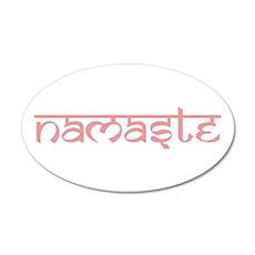 Namaste, Yoga Wall Sticker