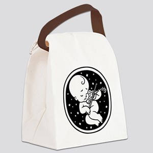 violin-womb-813-T Canvas Lunch Bag