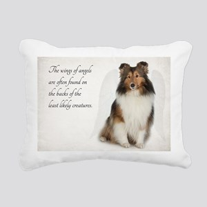 Sheltie Rectangular Canvas Pillow